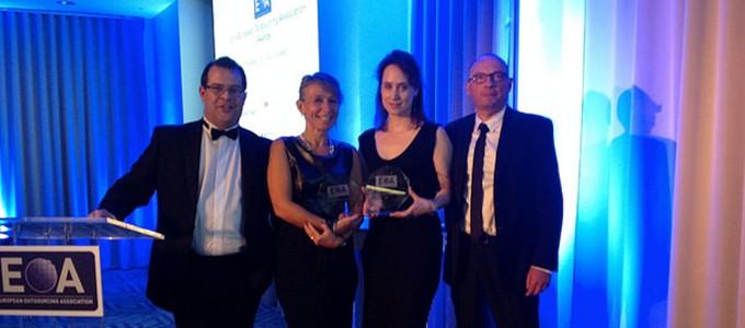 Teleperformance récompensé 2 fois par l'European Outsourcing Association (EOA)