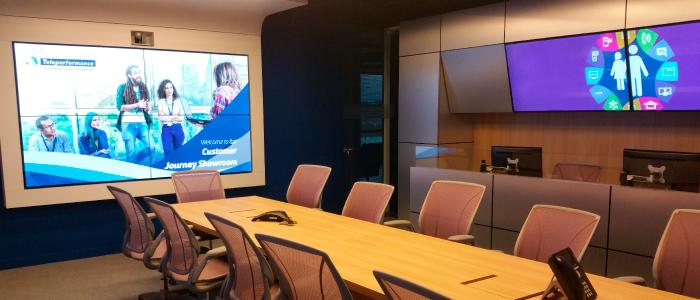 Vivez une expérience unique avec le Customer Journey Showroom de Teleperformance France