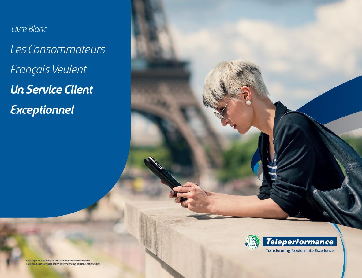 Livre Blanc : Les Français veulent un service client exceptionnel